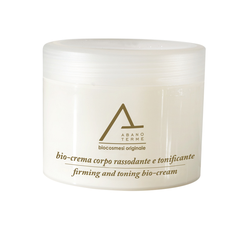Firming and toning bio cream for body, based hyperthermal water